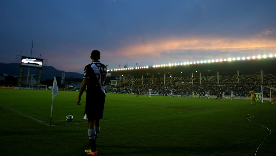 RIO DE JANEIRO, BRAZIL - MAY 27: Nene of Vasco in action during a match between Vasco and Fluminense part of Brasileirao Series A 2017 at Sao Januario Stadium on May 27, 2017 in Rio de Janeiro, Brazil. (Photo by Buda Mendes/Getty Images)