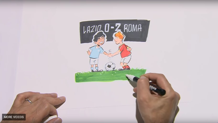 Video Francesco Totti Relives Career In Draw My Life Video Ahead
