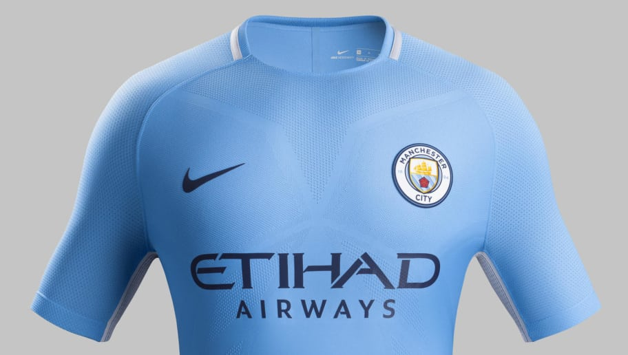 9d4cb97e008 Manchester City Launch New 2017 18 Nike Home Kit With Inspiration ...