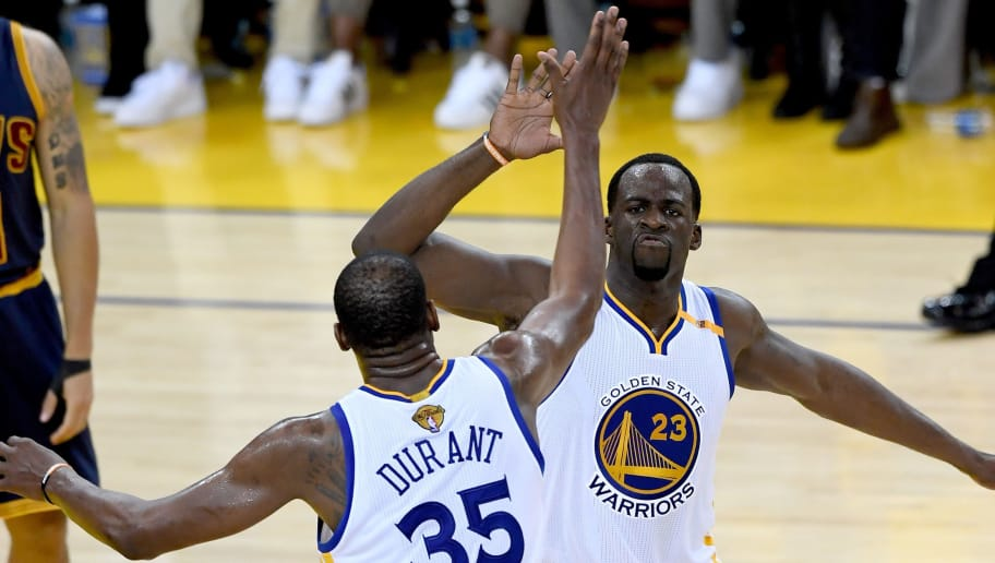 a7eaa476c392 Draymond Green Reveals He Called KD at Shocking Time to Convince Him to  Sign With Warriors
