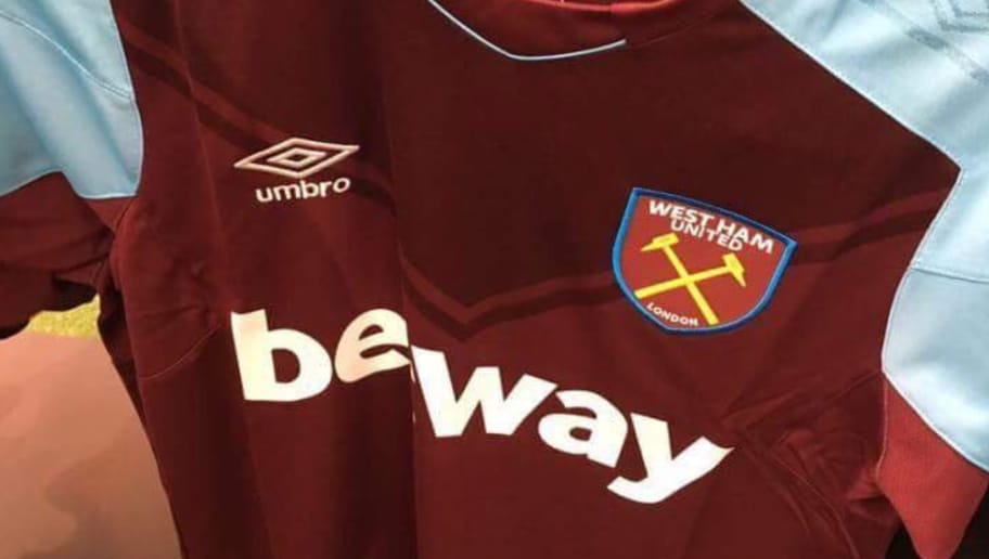brand new 2bdd1 c498f PHOTO: Potential West Ham Home Kit for 2017-18 Season Leaked ...