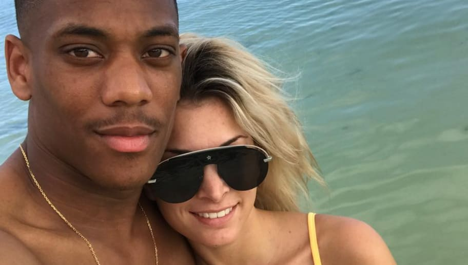 PHOTO: Anthony Martial Hits Back at Ex-Wife via Instagram in Ongoing