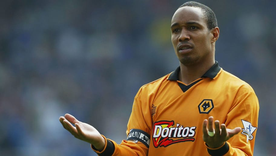 BIRMINGHAM, ENGLAND - APRIL 25:  Wolves captain Paul Ince looks dejected during the FA Barclaycard Premiership match between Birmingham City and Wolverhampton Wanderers at St. Andrew's on April 25, 2004 in Birmingham, England.  (Photo by Jamie McDonald/Getty Images)