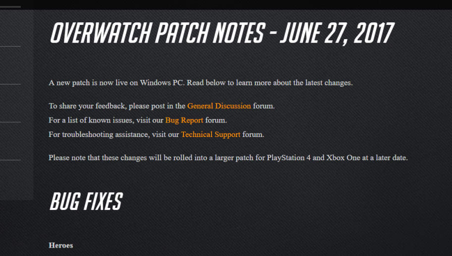 new overwatch patch notes xbox