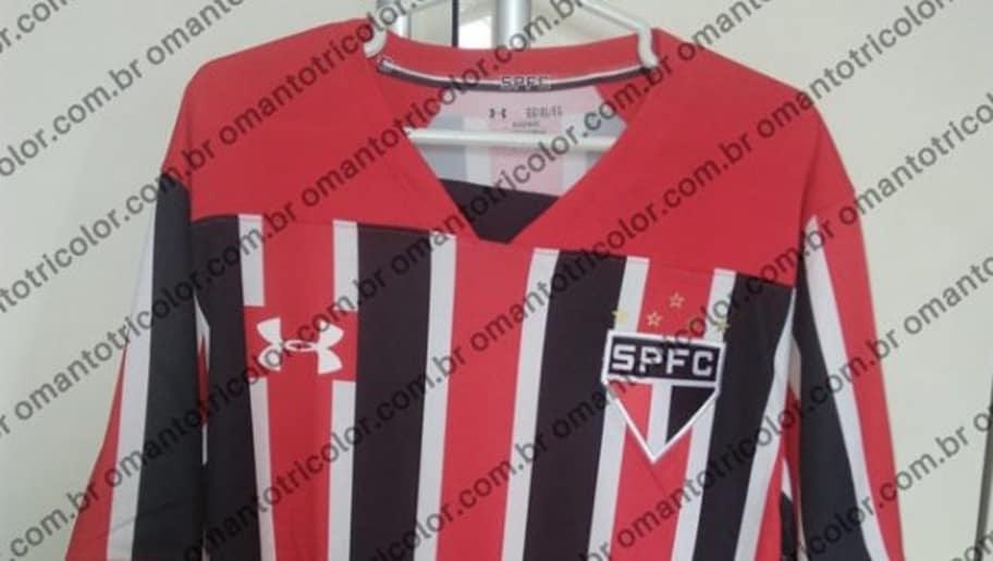 b09e0ba604 São Paulo irá estrear novo uniforme no clássico contra o Santos