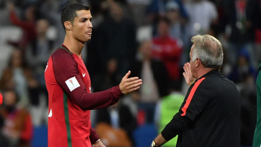VIDEO: Cristiano Ronaldo Shows His Mature Side as Portugal Fall to