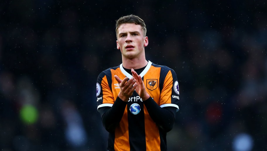 LONDON, ENGLAND - JANUARY 29:  Josh Tymon of Hull City applauds the fans after the Emirates FA Cup Fourth Round match between Fulham and Hull City at Craven Cottage on January 29, 2017 in London, England.  (Photo by Dan Istitene/Getty Images)