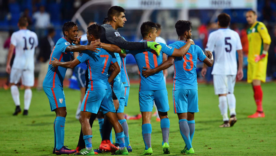 the latest 57403 82bc4 India National Football Team Rise to 96th Position in The ...