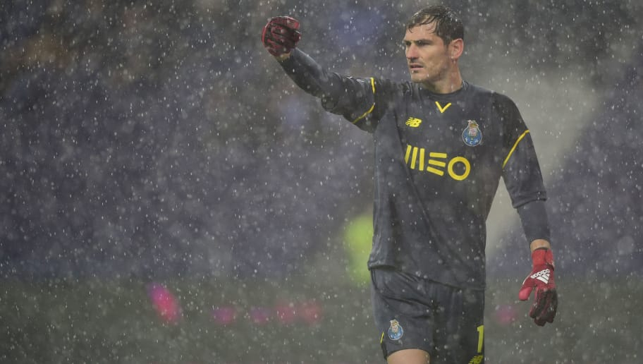new styles 842b0 21ce2 Iker Casillas Announces He's Signed a One-Year Contract ...