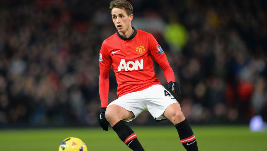 MANCHESTER, ENGLAND - JANUARY 11:  Adnan Januzaj of Manchester United in action during the Barclays Premier League match between Manchester United and Swansea City at Old Trafford on January 11, 2014 in Manchester, England.  (Photo by Shaun Botterill/Getty Images)