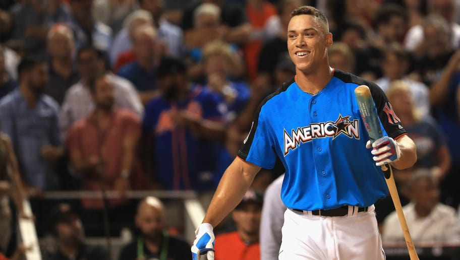 low priced a40ef b47da Aaron Judge Wins 2017 Home Run Derby | 12up