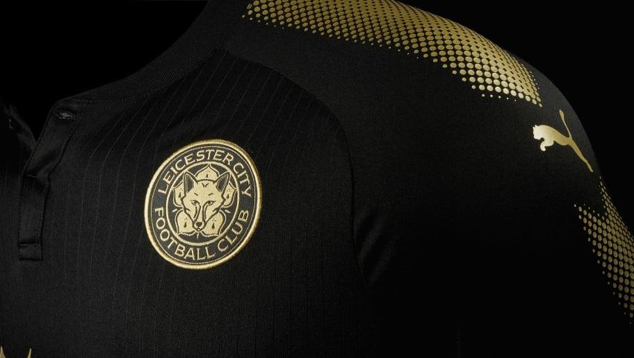 639ba808cbb PHOTO  Leicester City Launch Classy New Black Puma Away Kit Ahead of 2017 18  Season