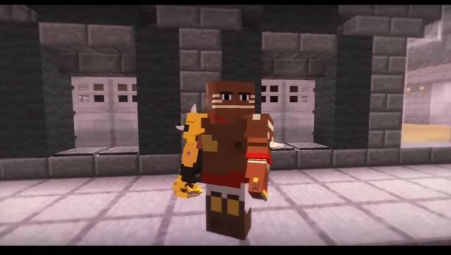 VIDEO: Doomfist Recreated in Minecraft | 90min