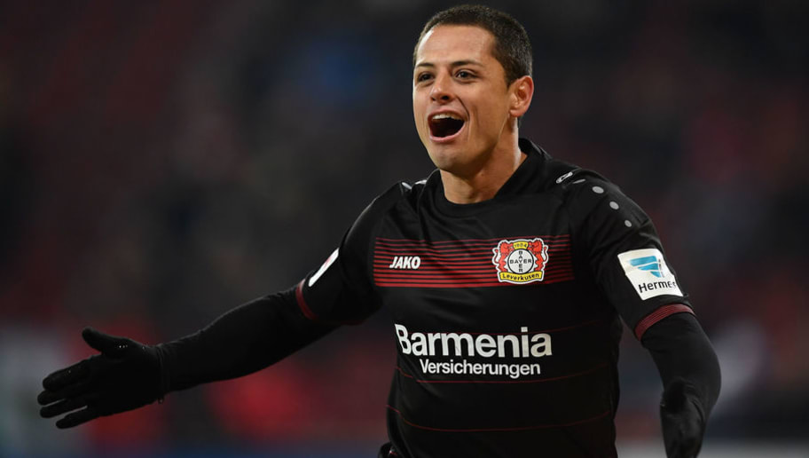 West Ham Announce Signing of Mexico Striker Javier  Chicharito  Hernandez  on 3-Year Deal 9de82da08