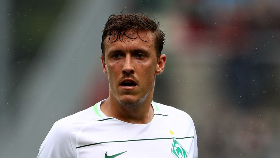 HAMBURG, GERMANY - JULY 22:  Max Kruse of Bremen reacts during the preseason friendly match between FC St. Pauli and Werder Bremen at Millerntor Stadium on July 22, 2017 in Hamburg, Germany.  (Photo by Martin Rose/Bongarts/Getty Images)