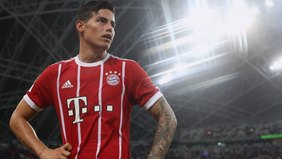 James Rodriguez Names His 'Best Friend' at Bayern Munich   90min