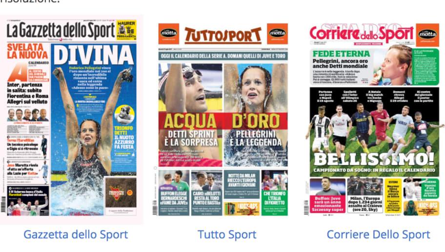 Corriere Dello Sport Calendario.Rassegna Stampa Sportiva 27 07 2017 90min