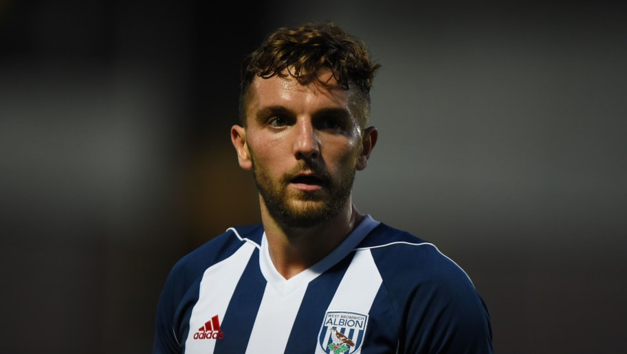 BURTON-UPON-TRENT, ENGLAND - JULY 26: Jay Rodriguez of West Bromwich Albion looks on during the pre season friendly match between Burton Albion and West Bromwich Albion at Pirelli Stadium on July 26, 2017 in Burton-upon-Trent, England. (Photo by Nathan Stirk/Getty Images)