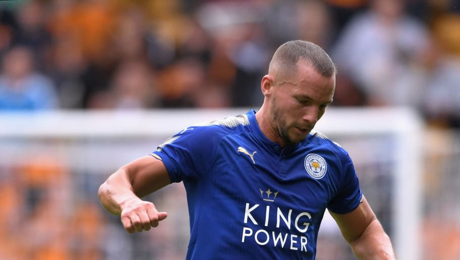 WOLVERHAMPTON, ENGLAND - JULY 29:  Danny Drinkwater of Leicester in action during the pre-season friendly match between Wolverhampton Wanderers and Leicester City at Molineux on July 29, 2017 in Wolverhampton, England.  (Photo by Michael Regan/Getty Images)