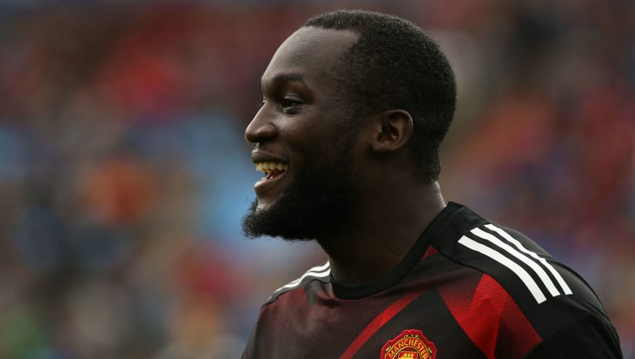 OSLO, NORWAY - JULY 30: Romerlu Lukaku of Manchester United before the game against Valerenga today at Ullevaal Stadion on July 30, 2017 in Oslo, Norway. (Photo by Andrew Halseid-Budd/Getty Images)