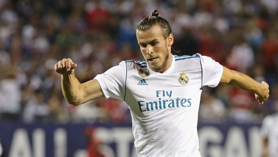 CHICAGO, IL - AUGUST 02: Gareth Bale #11 of Real Madrid advances the ball against the MLS All-Stars during the 2017 MLS All- Star Game at Soldier Field on August 2, 2017 in Chicago, Illinois. Real Madrid defeated the MLS All-Stars 4-2 in a shootout following a 1-1 regulation tie. (Photo by Jonathan Daniel/Getty Images)