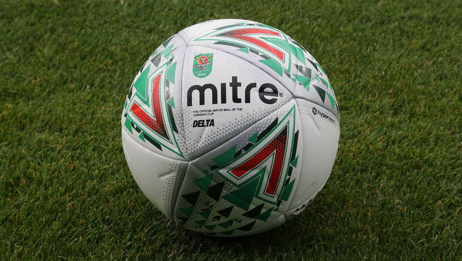 LONDON, ENGLAND - AUGUST 08:  A matchball is seen prior to the Carabao Cup first round match between Queens Park Rangers and Northampton Town at Loftus Road on August 8, 2017 in London, England.  (Photo by Pete Norton/Getty Images)