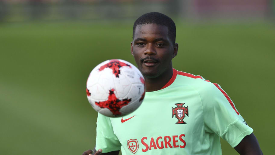 Portugal's midfielder William Carvalho attends a training session ahead of the Russia 2017 Confederation Cup football tournament in Kazan on on June 16, 2017. / AFP PHOTO / YURI CORTEZ        (Photo credit should read YURI CORTEZ/AFP/Getty Images)