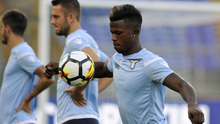 ROME, ROMA - AUGUST 12:  Balde Diao Keita of SS Lazio during the SS Lazio Training Session on August 12, 2017 in Rome, Italy.  (Photo by Marco Rosi/Getty Images)