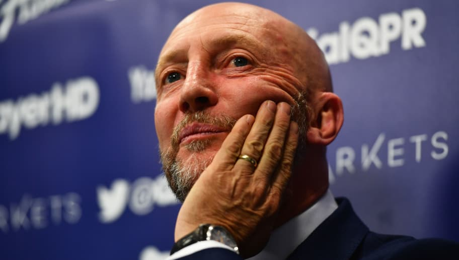 LONDON, ENGLAND - NOVEMBER 16:  Newly appointed Queens Park Rangers manager Ian Holloway talks during a press conference at Loftus Road on November 16, 2016 in London, England.  (Photo by Dan Mullan/Getty Images)