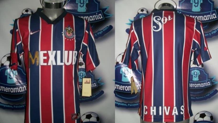 new product a9406 1bb5a DE COLECCIÓN! | Ocho uniformes con los que Chivas rompió los ...
