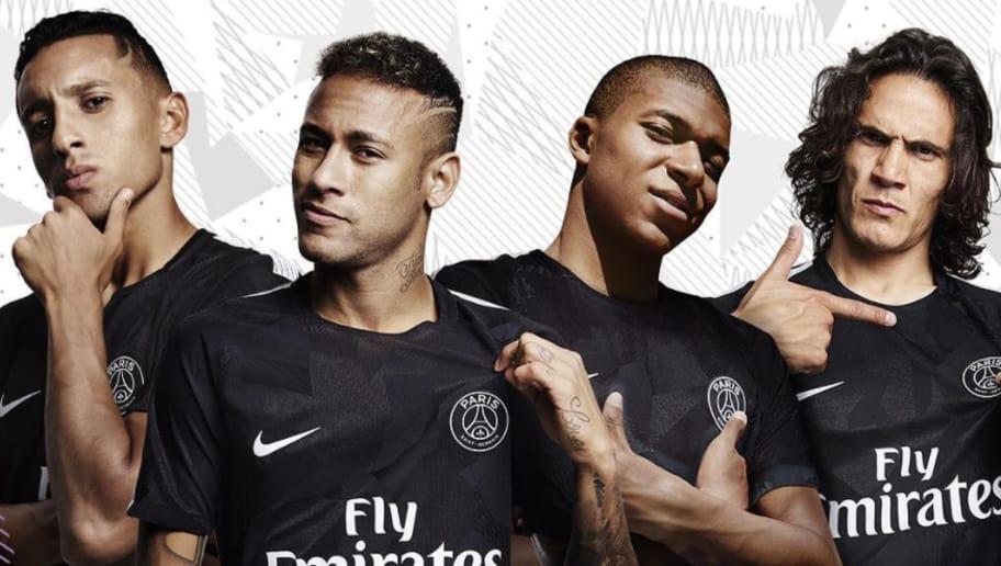 Photo Big Spenders Paris Saint Germain Officially Reveal Their Striking New Third Kit 90min