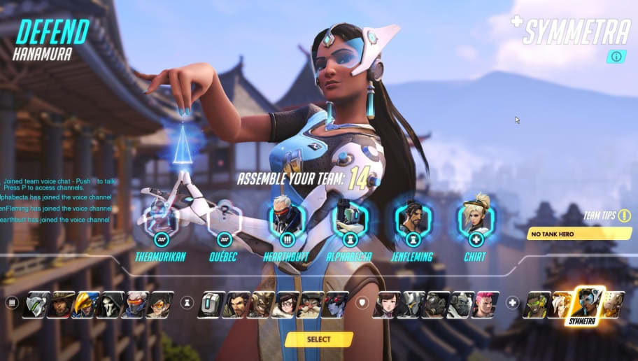 Reworking Overwatch's Character Select | 90min
