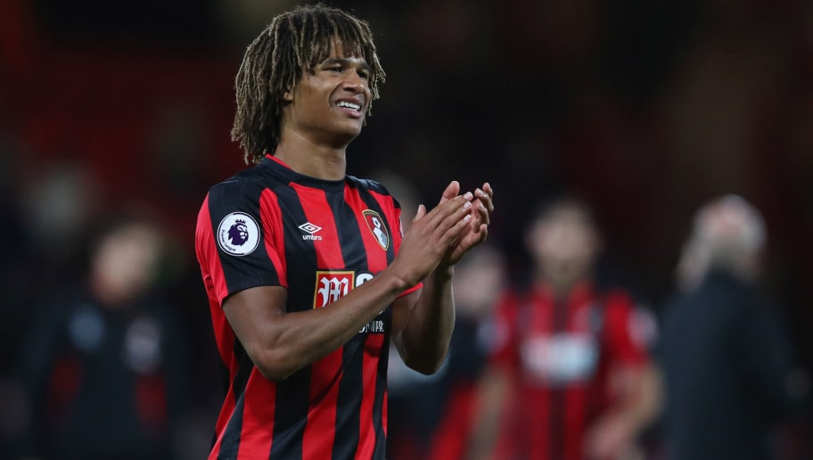 BOURNEMOUTH, ENGLAND - SEPTEMBER 15:  Nathan Ake of AFC Bournemouth celebrates victory after the Premier League match between AFC Bournemouth and Brighton and Hove Albion at Vitality Stadium on September 15, 2017 in Bournemouth, England.  (Photo by Dan Istitene/Getty Images)