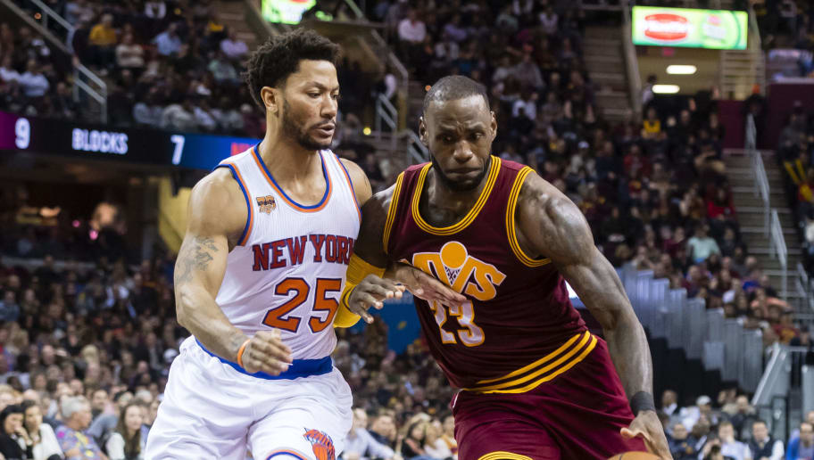 703b3a6c854 REPORT  LeBron Motivated to Help Derrick Rose Earn Big Contract With  Comeback Season