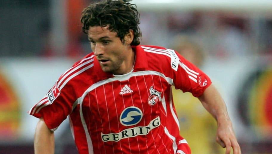 COLOGNE, GERMANY - SEPTEMBER 15:  Peter Madsen of Cologne in action during the Second Bundesliga match between 1.FC Cologne and Eintracht Braunschweig at the RheinEnergie Stadium on September 15, 2006 in Cologne, Germany.  (Photo by Lars Baron/Bongarts/Getty Images)