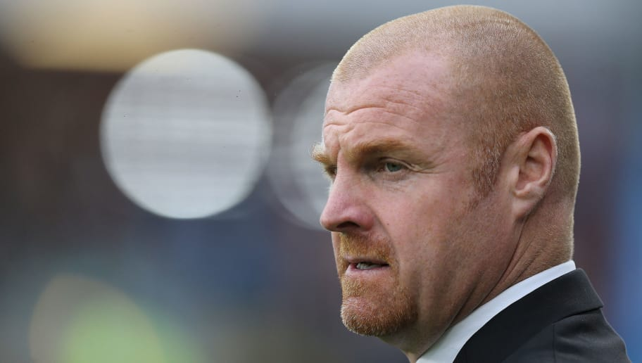 BURNLEY, ENGLAND - SEPTEMBER 23:  Sean Dyche manager of Burnley during the Premier League match between Burnley and Huddersfield Town at Turf Moor on September 23, 2017 in Burnley, England. (Photo by Nigel Roddis/Getty Images)