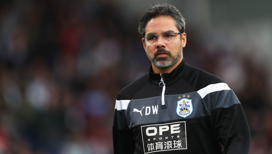 BURNLEY, ENGLAND - SEPTEMBER 23:  David Wagner, Manager of Huddersfield Town looks on during the Premier League match between Burnley and Huddersfield Town at Turf Moor on September 23, 2017 in Burnley, England.  (Photo by Ian MacNicol/Getty Images)