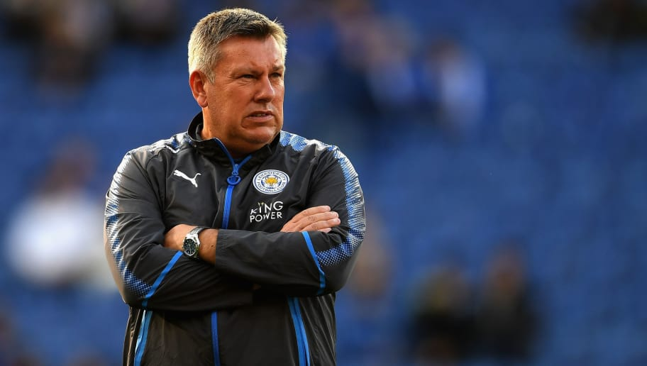 LEICESTER, ENGLAND - SEPTEMBER 23:  Craig Shakespeare, manager of Leicester City looks on prior to  the Premier League match between Leicester City and Liverpool at The King Power Stadium on September 23, 2017 in Leicester, England.  (Photo by Laurence Griffiths/Getty Images)