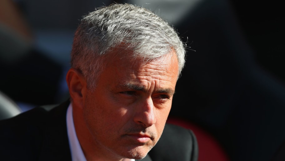 SOUTHAMPTON, ENGLAND - SEPTEMBER 23: Jose Mourinho, Manager of Manchester United looks on during the Premier League match between Southampton and Manchester United at St Mary's Stadium on September 23, 2017 in Southampton, England.  (Photo by Clive Rose/Getty Images)