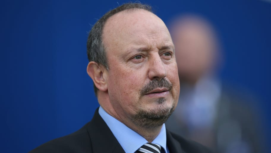 BRIGHTON, ENGLAND - SEPTEMBER 24: Rafael Benitez, Manager of Newcastle United looks on prior to the Premier League match between Brighton and Hove Albion and Newcastle United at Amex Stadium on September 24, 2017 in Brighton, England. (Photo by Steve Bardens/Getty Images)