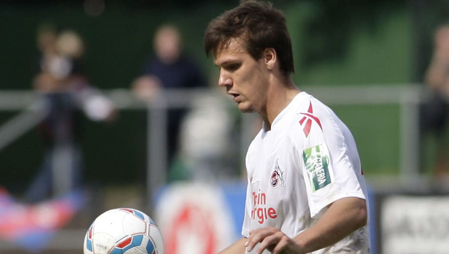 COLOGNE, GERMANY - AUGUST 27:  Christopher Schorch of Koeln controls the ball during the Regionalliga West match between 1. FC Koeln v Wuppertaler SV at the Franz-Kremer-Stadium on August 27, 2011 in Cologne, Germany.  (Photo by Mika Volkmann/Bongarts/Getty Images)