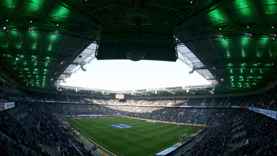 MOENCHENGLADBACH, GERMANY - SEPTEMBER 19:  General view of the Borussia-Park prior to the Bundesliga match between Borussia Moenchengladbach and VfB Stuttgart at Borussia-Park on September 19, 2017 in Moenchengladbach, Germany.  (Photo by Christof Koepsel/Bongarts/Getty Images)