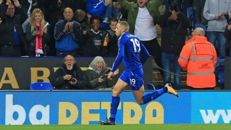 Leicester Striker Islam Slimani Admits to 'Conversation' With