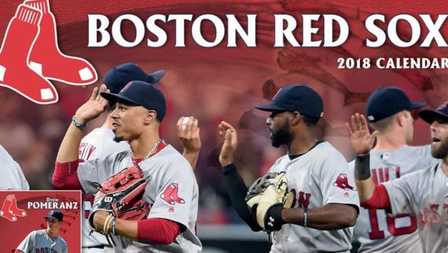 Red Sox 2018 Calendar Features One Brutal Mistake 12up