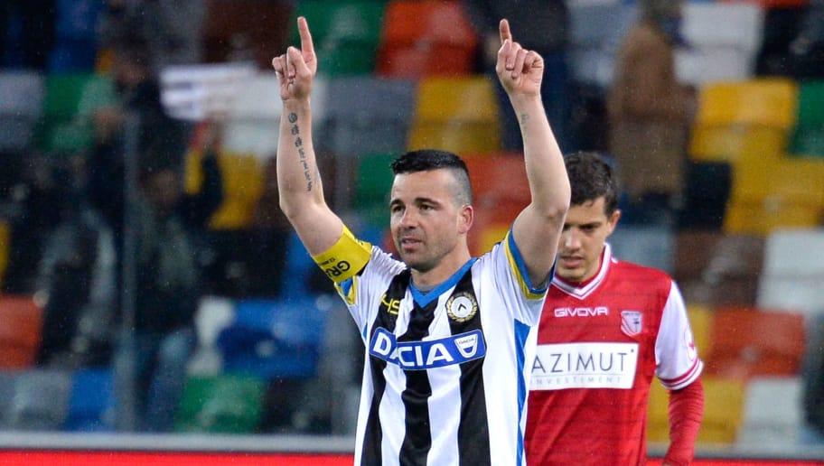 Antonio Di Natale.Ex Italy Striker Antonio Di Natale Reflects On Life After