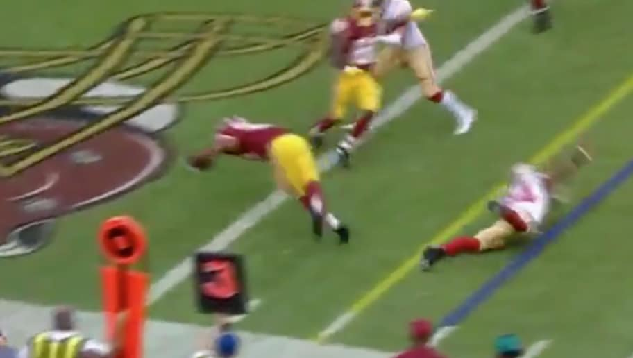 292433d744c Kirk Cousins Hits Samaje Perine for Another Redskins TD - KCM Sports