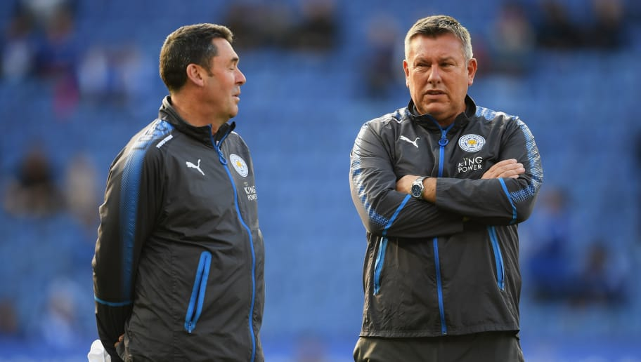 LEICESTER, ENGLAND - SEPTEMBER 23:  Craig Shakespeare, manager of Leicester City looks on during the Premier League match between Leicester City and Liverpool at The King Power Stadium on September 23, 2017 in Leicester, England.  (Photo by Laurence Griffiths/Getty Images)