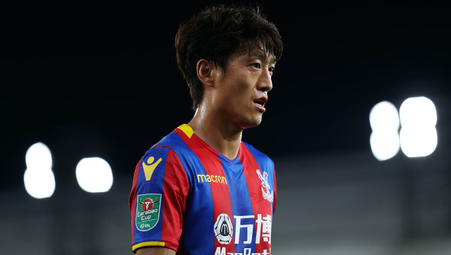LONDON, ENGLAND - SEPTEMBER 19:  Chung-yong Lee of Crystal Palace looks on during the Carabao Cup Third Round match between Crystal Palace and Huddersfield Town at Selhurst Park on September 19, 2017 in London, England.  (Photo by Bryn Lennon/Getty Images)