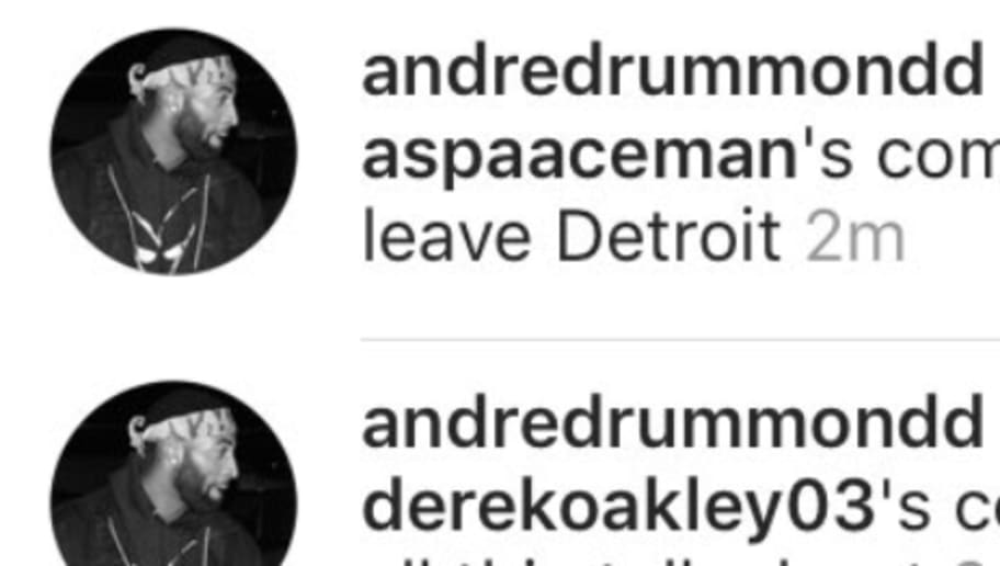 Andre Drummond Fuels Trade Rumors With Instagram Activity | 12up