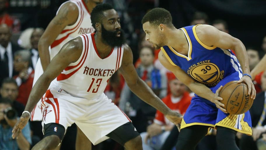 e301d579963b Steph Curry and James Harden Are Hiding the Nike Logos on Their Uniforms
